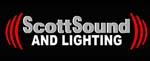 Scott Sound and Lighting logo.