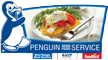Penguin Wholesalers logo.