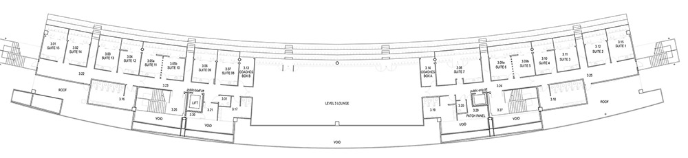 Level Three floor plan image.