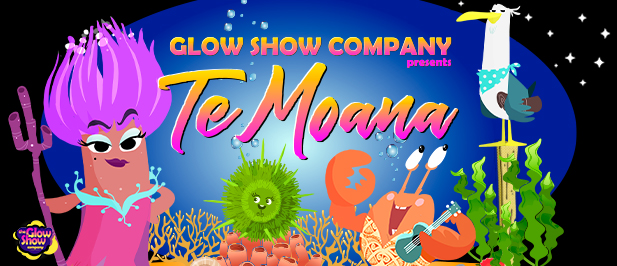 Te Moana Glow Show marketing image.